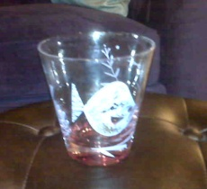 Classic highball glasses, gone through the dishwasher too many times